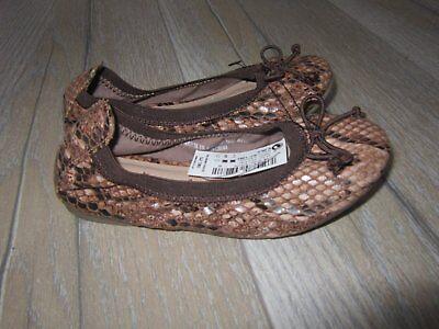 Próxima Zapatos Bailarina De Leopardo Nuevo con etiquetas talla 9 Niñas