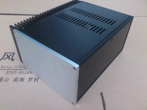 2515 Full  Aluminum Preamplifier enclosure//amplifier chassis  BOX with heatsink