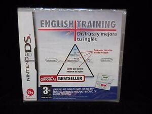 English-Trainig-disfruta-y-mejora-tu-ingles-para-Nintendo-DS-Nuevo-y-precintado