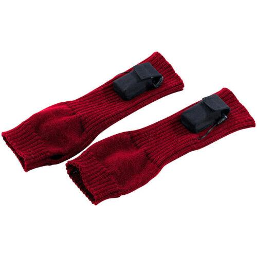 Fingerlose Winter-Stulpe Beheizbare Arm-Stulpen Größe S//M
