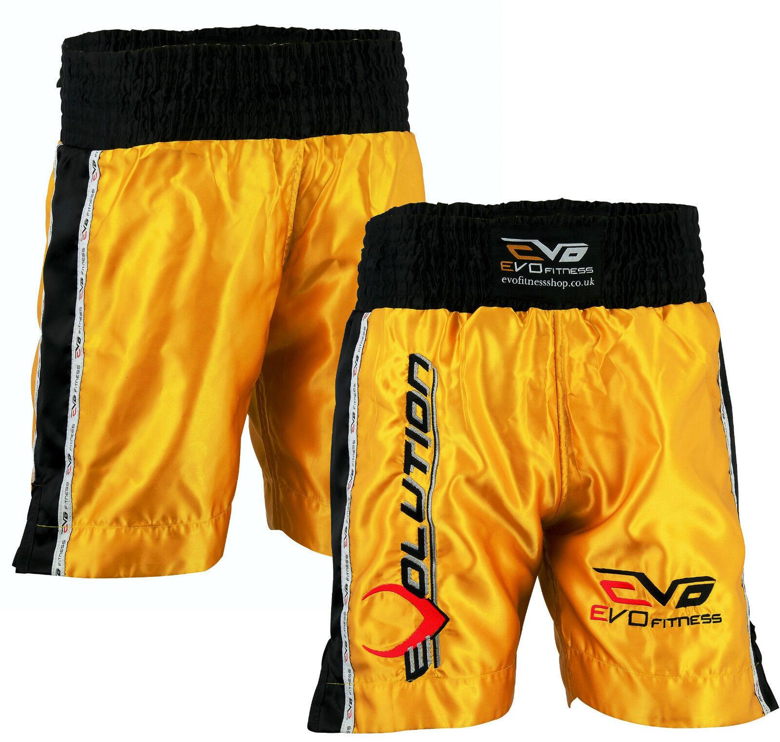 Evo Hommes Boxe Short Short Short de Combat Mma Kick Boxing Arts Martiaux Rouage Muay Thai 1f944c