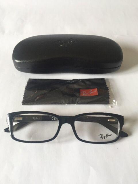 cf1c6c06c24 Rayban Unisex Ophthalmic Frame Model 5187 Colour 2000 Shiny Black