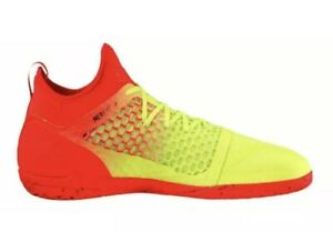 9d83e41ba Puma 365 Ignite Netfit CT Men's Indoor Soccer Shoes 104704 01 Yellow ...