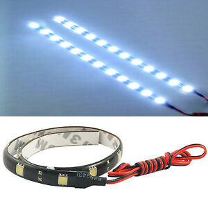30cm-2X-12-SMD-30CM-5050-Car-Lighting-12V-LED-Strips-Waterproof-DRL-Camping