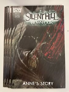 IDW SILENT HILL DOWNPOUR : ANNE'S STORY #4 REGULAR COVER : 4-COPY LOT : NM
