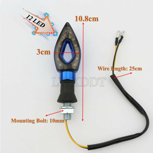 2x LED Turn Signals Light Holder For Honda CBR600 F2 F3 F4 F4I 600RR 900 1000RR
