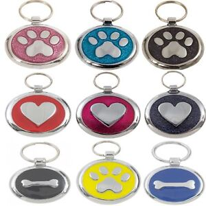 Personalised-Premium-Engraved-Pet-Tags-DOG-ID-Custom-Disc-Disk-Quality-Puppy-Cat