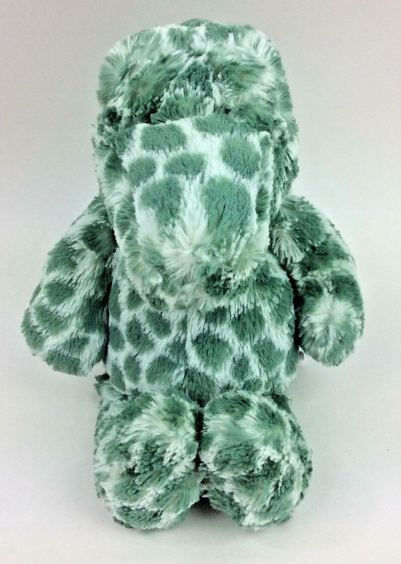 Jellycat Dapple Croc Alligator Gator Green White Plush Stuffed Crocodile 13