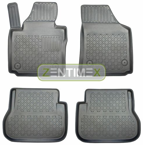 Z330847 Set Tappetino Vasca In Gomma Tappetini per VW Volkswagen Caddy Life Highline