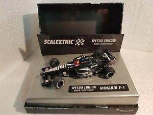 QQ-6194-Scalextric-Minardi-F-1-2001CHAMPION-21-Fernando-Alonso-Special-Edition