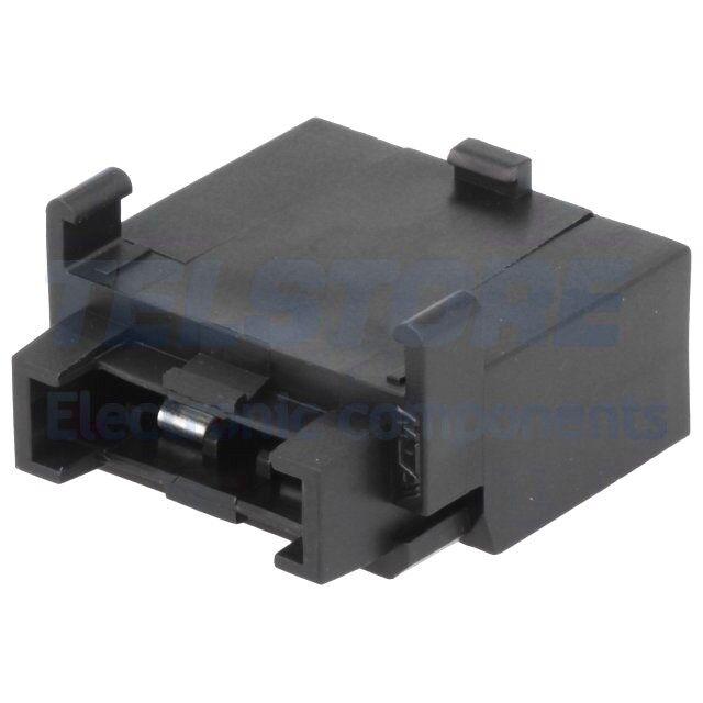 1pcs  Porta fusibile per la serie UNIVAL 19mm Imax 40A Umax 32V TELSTORE