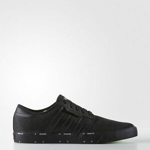 NEW MEN'S ADIDAS ORIGINALS SEELEY X ARI MARCOPOULOS SHOES [BY4520]  BLACK//BLACK