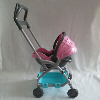 NEW Barbie Skipper Babysitter Doll Baby Carrier Car Seat ...