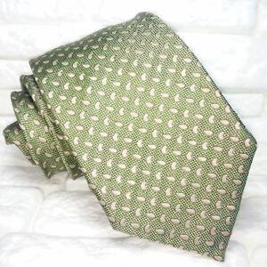 Cravatta-Classica-uomo-verde-JACQUARD-100-seta-Made-in-Italy-RP-36-8-cm