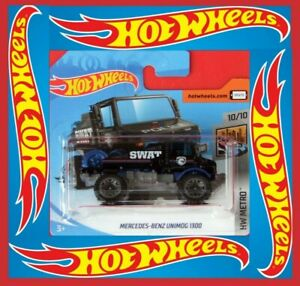 Hot-Wheels-2020-Mercedes-Benz-Unimog-1300-Treasure-Hunt-33-250-neu-amp-ovp