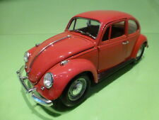 ROAD TOUGH 92078 VW VOLKSWAGEN BEETLE 1967 - RED 1:18 - VERY GOOD CONDITION