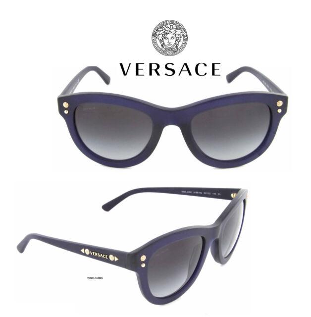 63c9a686c68d Versace Sunglasses VE4291 5138/8G Transparent Blue Women's 100% Authentic/ New