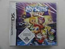 MY SIMS PARTY (DS-NEW3DSXL) NEU OVP DEUTSCH***