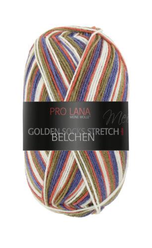 100 g-glomérules 4,95 €//100 g Belchen Chaussettes Laine Stretch//Prolana 4-Fädig