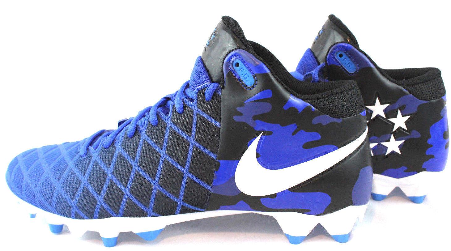 NIKE FIELD GENERAL PRO TD VARSITY BLUE FOOTBALL CLEATS MENS SZ 12  833386-410 1