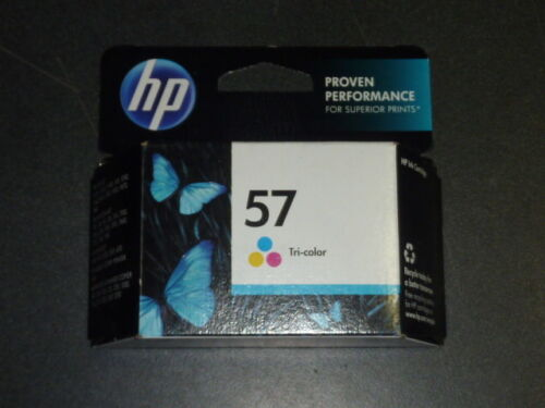 NEW GENUINE HP 57 Tri-color Original Printer Ink Cartridge C6657AN 10//2016