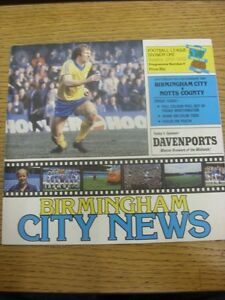 05121981 Birmingham City v Notts County  Light Crease Trusted sellers on eb - Birmingham, United Kingdom - Returns accepted within 30 days after the item is delivered, if goods not as described. Buyer assumes responibilty for return proof of postage and costs. Most purchases from business sellers are protected by the Consumer Contr - Birmingham, United Kingdom