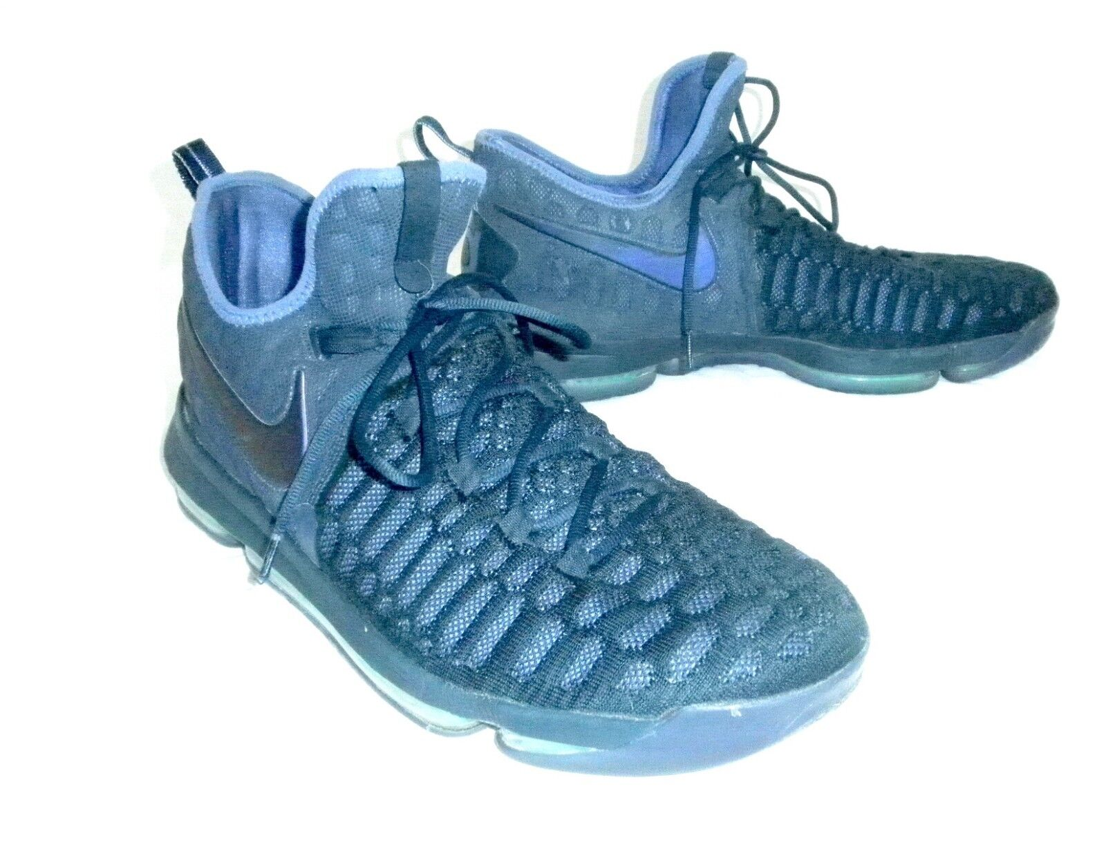 Nike Zoom KD9 Kevin Durant Athletic shoes Royal bluee Men 17