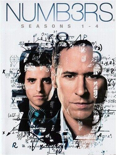 Numb3rs Tv Series Seasons 1 2 3 4 Dvd For Sale Online Ebay