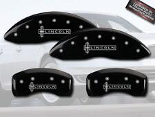 2013 2016 Lincoln Mks Front Rear Black Mgp Brake Disc Caliper Covers 4pc Set