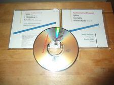 "Karlheinz Stockhausen ""Zyklus/Kontakte/KlavierstückeV & IX"" CD CAPRICE SWEDEN"