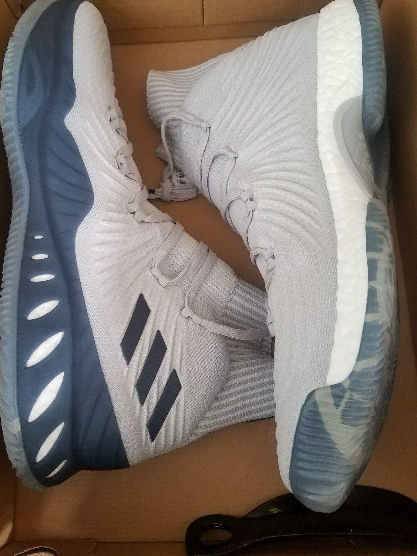 Adidas Crazy Explosive 2017 PrimeKnit PK Linco Mens Grey shoes Size 19
