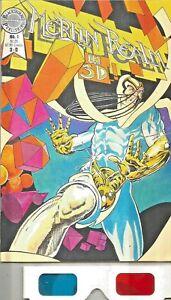Merlin Realm in 3-D Comic Book #1 Blackthorne 3-D Series #2 1986 VERY FINE
