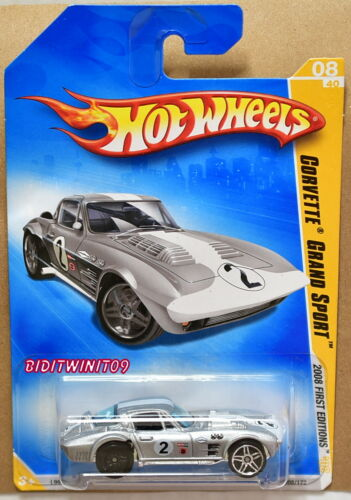 Hot Wheels 2008 Premier Éditions Corvette Grand Sport Roues Error W +