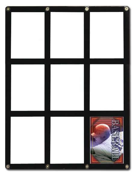 9-Frame Holder  Ultra Pro Screwdown Rigid Hard Card | MTG Yugioh Pokemon Sports