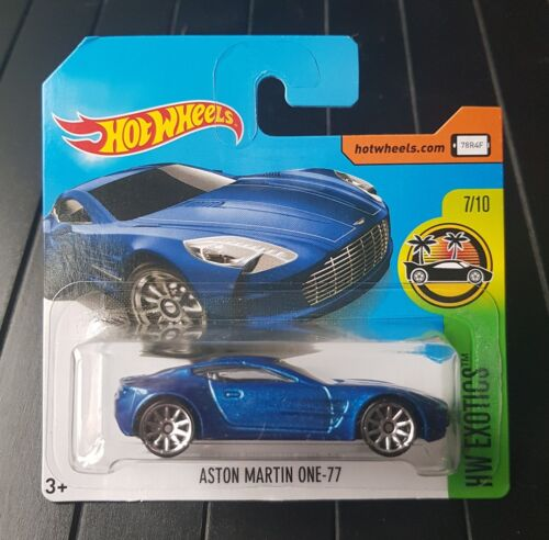 Hot Wheels Aston Martin One-77 HW Exotics 7//10 287//365 2017 Mattel