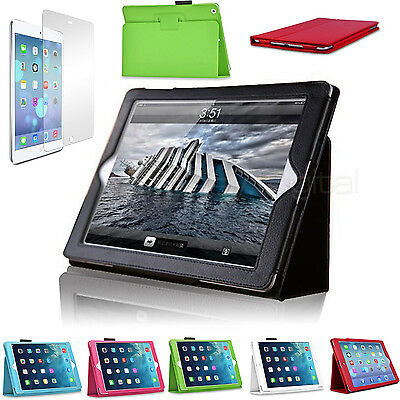 Magnetic Stand Leather Case + Back Case for New Apple iPad 6 iPad Air 2 2014 Pro