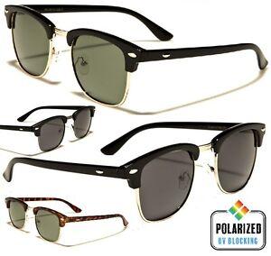 Polarised-Clubmaster-Wayfarer-Sunglasses-Vintage-Frames-FREE-POST-AUS