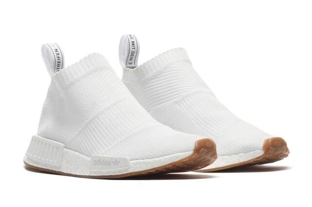 Adidas NMD CS1 City Sock PK White Gum Size 12. BA7208 ultra boost yeezy