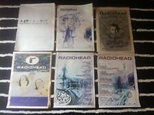 RADIOHEAD - ORIGINAL ADVERT / SMALL POSTER ok computer PARANOID ANDROID live