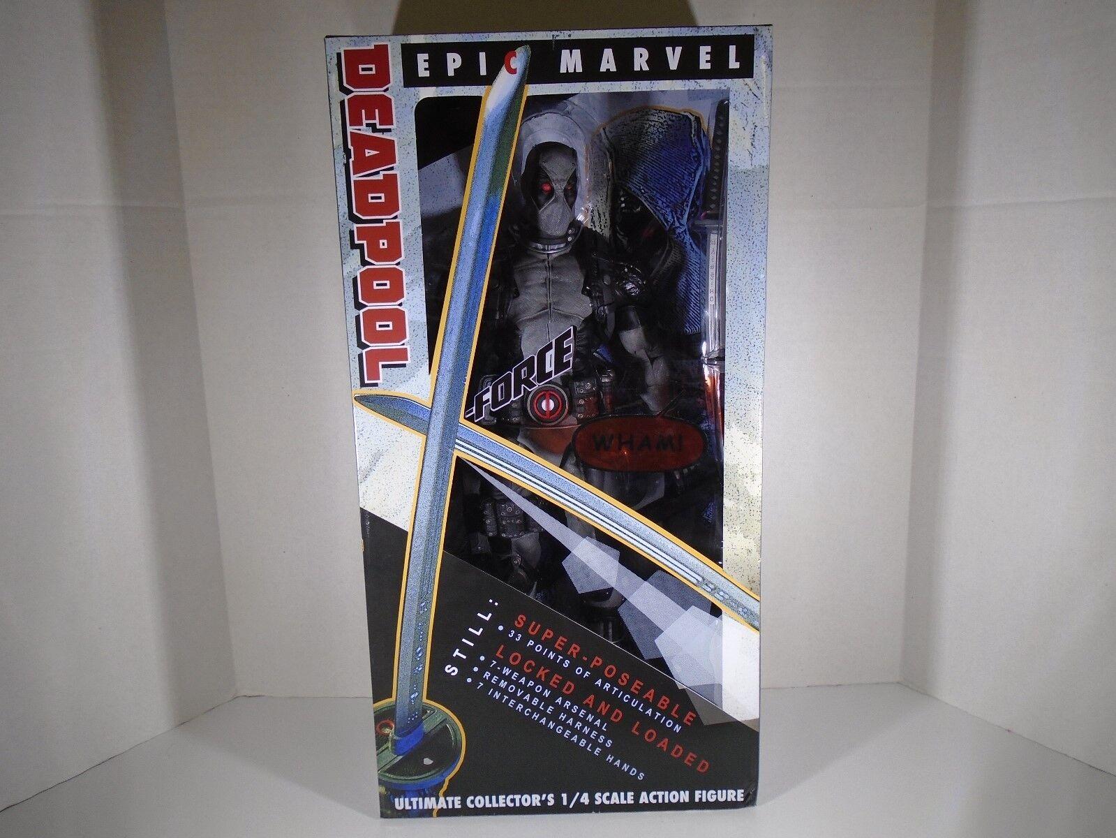 NECA -- épica Marvel -- 18  Deadpool X-Force Ultimate De Coleccionista figura de escala 1 4