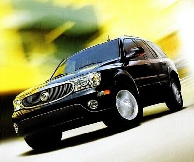2006 Buick Terraza Van 30-page Original Car Sales Brochure Catalog