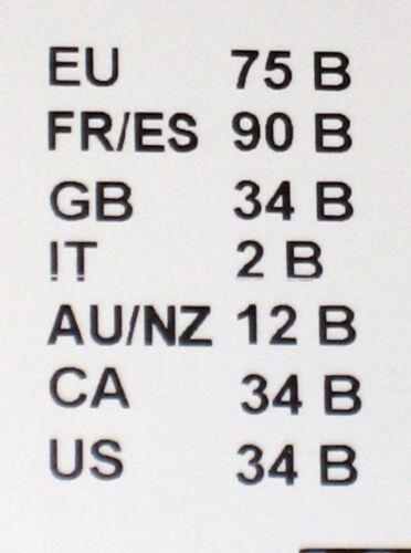 75 B Essence schwarz  NEU SONDERPOSTEN NUR 16,90 3-99 TRIUMPH Bügel BH