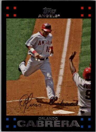 Choose Your Card 2007 Topps Baseball Card #492-660