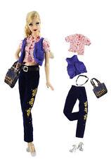 1 Set Fashionistas Kleidung Prinzessinnen Kleider Für Barbie Puppe Doll z34