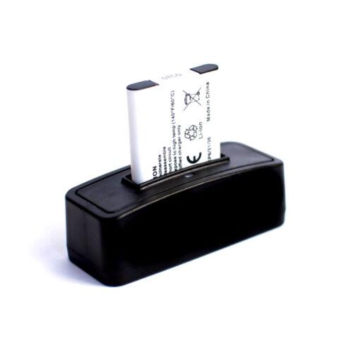 Batería estación de carga para Pentax Optio w20