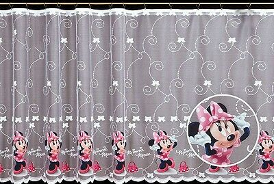 Child Coloured Kids Net Curtain Disney Decoration Sold By Meters