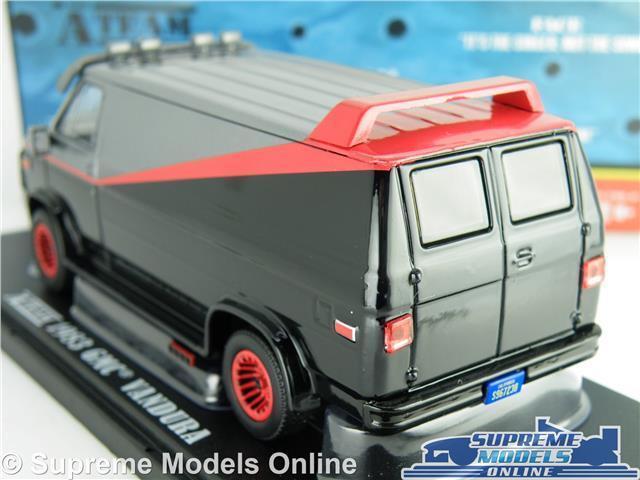 THE A-TEAM MODEL VAN GMC VANDURA 1 43 43 43 Größe 1983 A TEAM TV SERIES GrünLIGHT T3 05029a