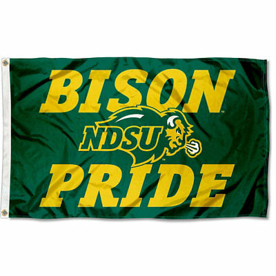 North Dakota State University Bison Bison Pride NCAA Flag Tailgating Banner