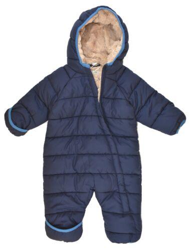 Baby Winteroverall Overall Schneeanzug Jungen Blau 62//68 74//80 86//92 98//104