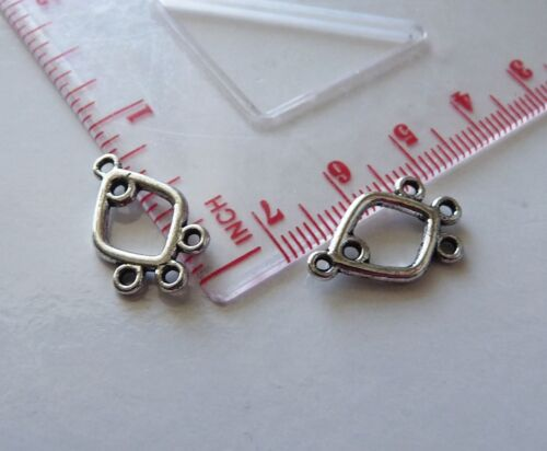 10Pcs Chandelier Earring Findings 3 Hole Connector Pendant Jewelry Components